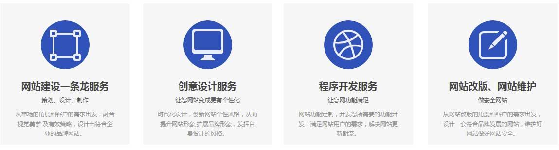 网站建设类型