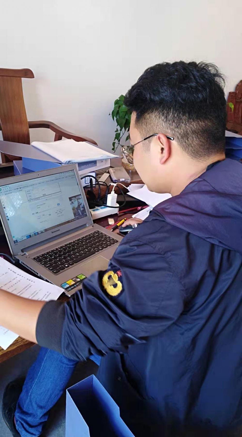 祝贺云南永仁县某公墓正式使用BOB体育官方网站公墓管理系统